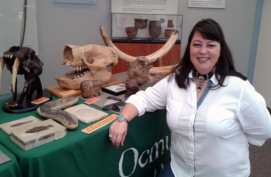 Ashley Quinn, Interim President Paleontological Association of Georgia Collection Manager, Georgia College Natural History Museum
